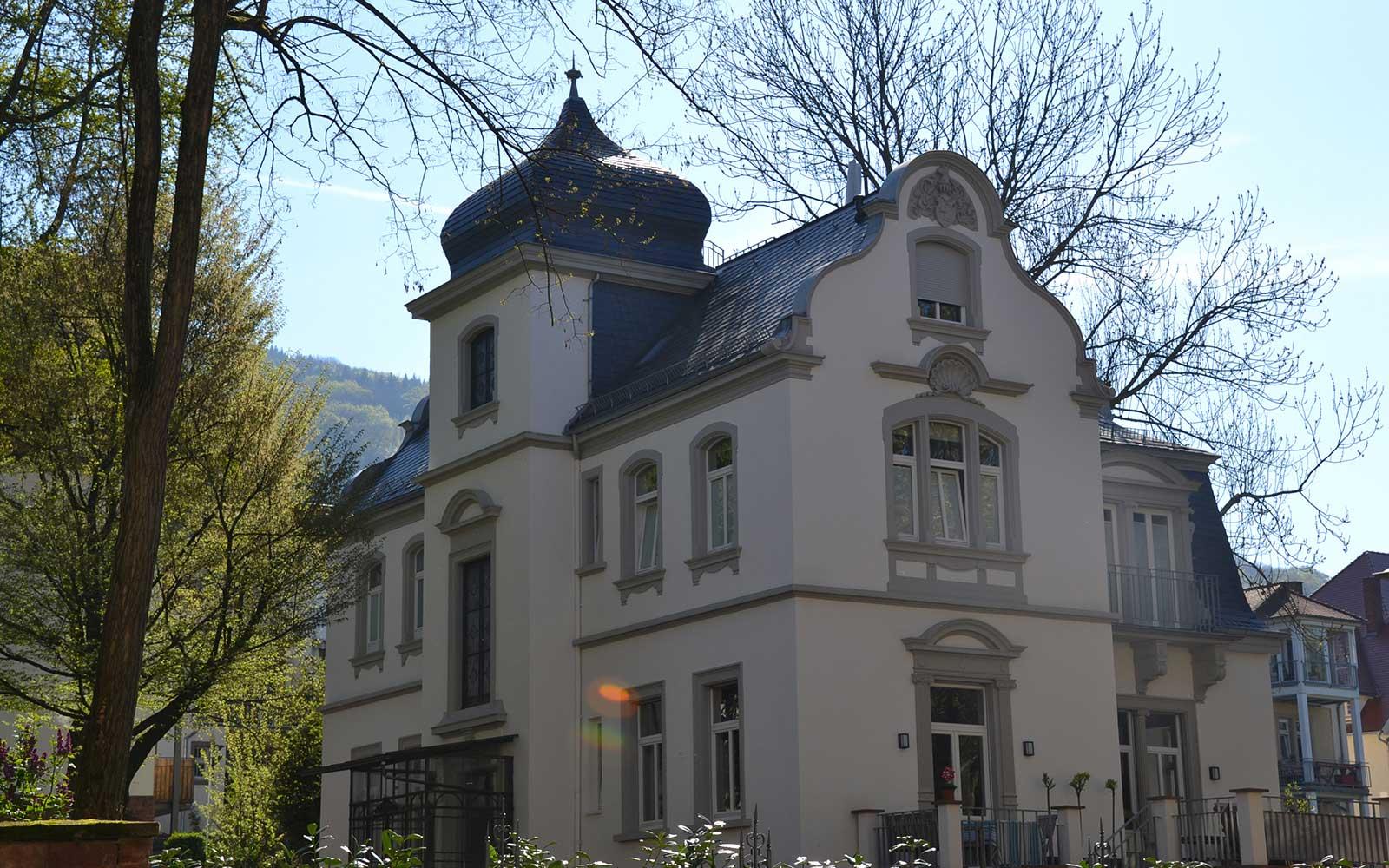 Behaghelvilla, Kochhan und Weckbach Architekten Heidelberg
