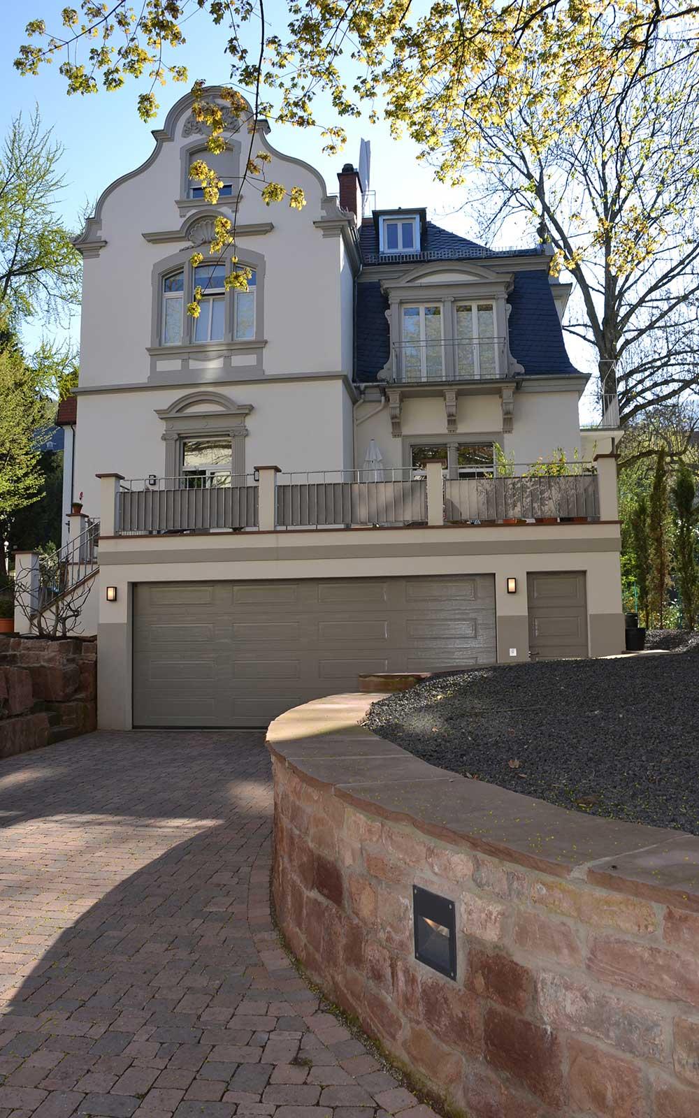 Hermann Behaghel Villa in Heidelberg, Kochhan und Weckbach Architekten Heidelberg