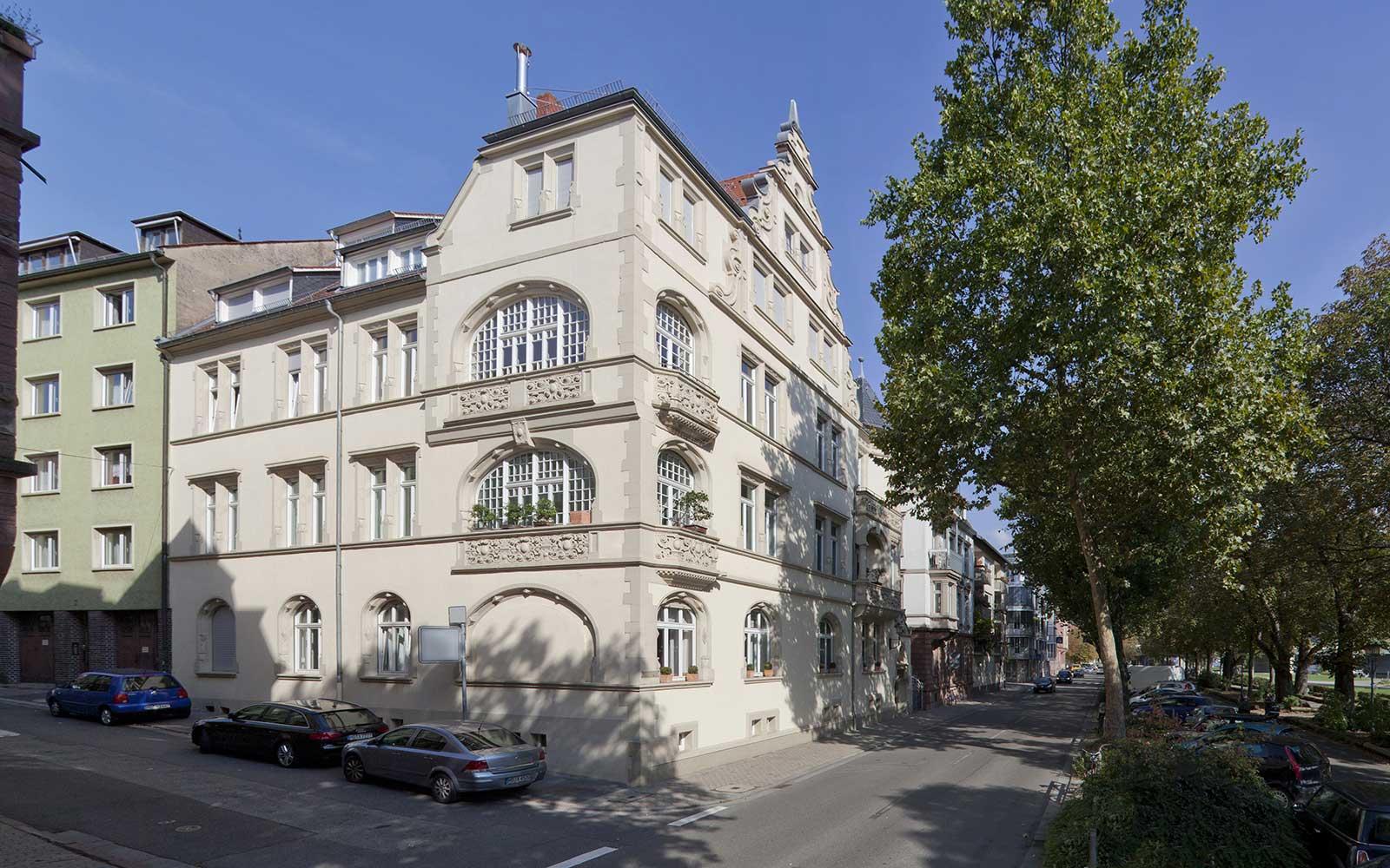 Dachstudio in Heidelberg Neuenheim, Kochhan und Weckbach, Architekt Heidelberg