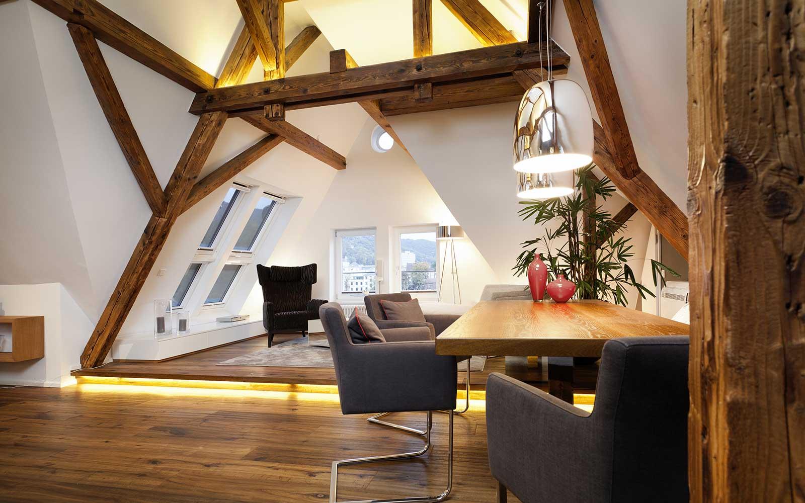 Dachstudio am Neckar in Heidelberg, Kochhan und Weckbach Architekten Heidelberg