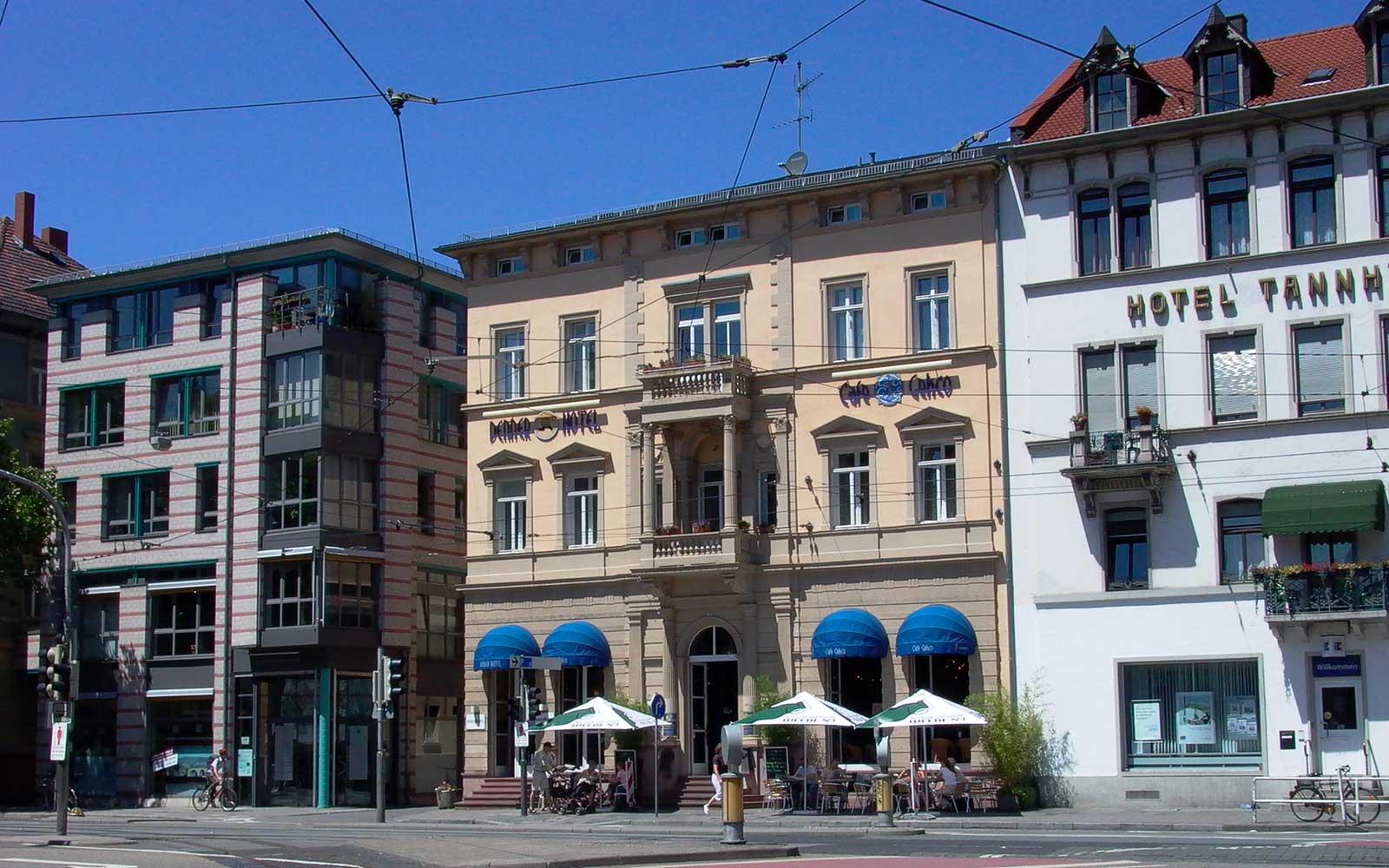 Hotel denner kochhan weckbach architekten heidelberg - Architekturburo heidelberg ...