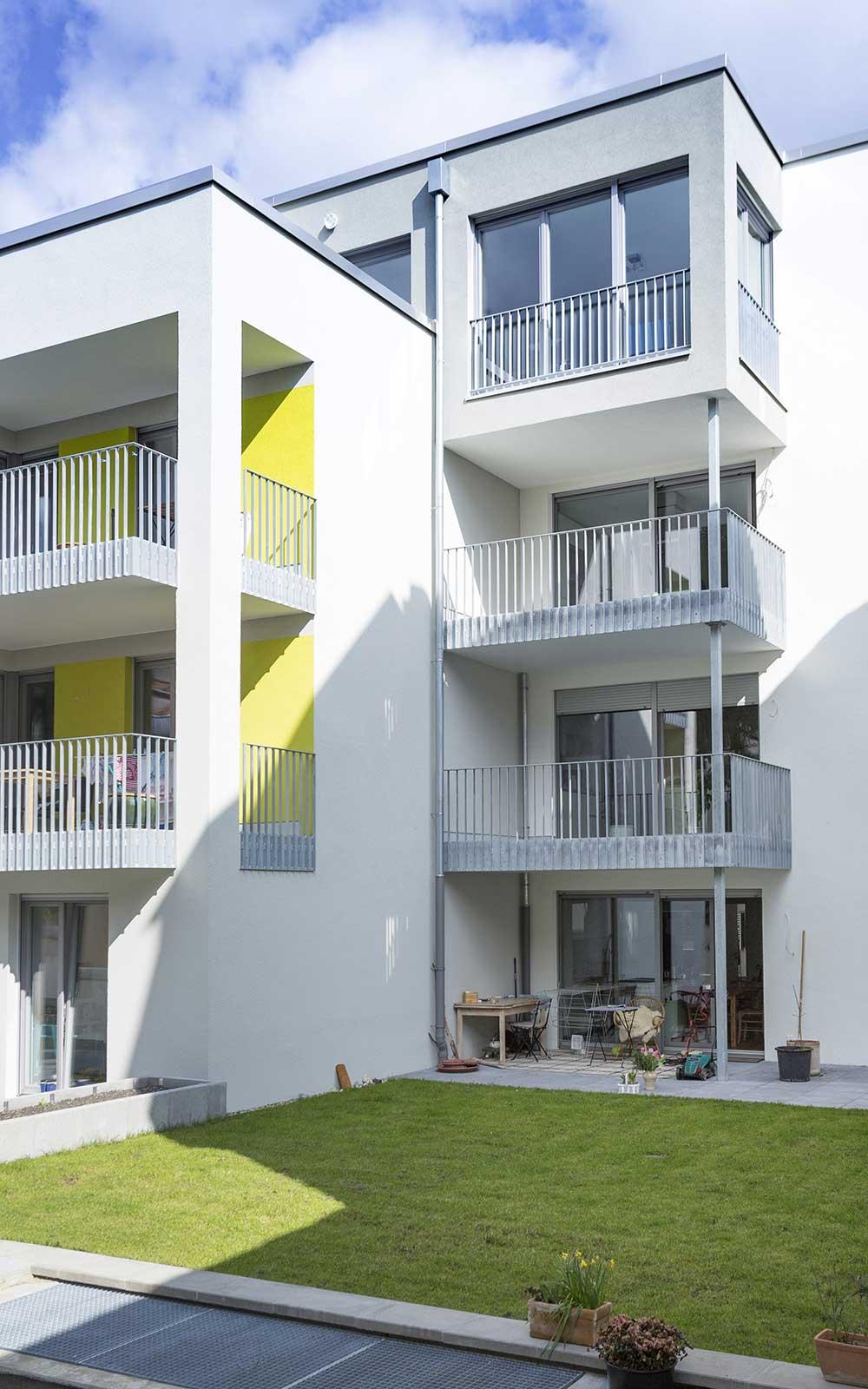 Eigentumswohnungen in Handschuhsheim, Heidelberg, Kochhan und Weckbach Architekten