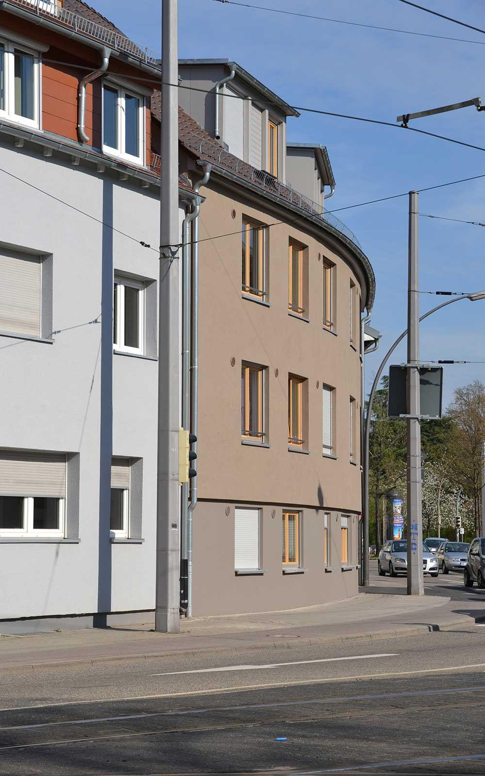 Hans Thoma Wohnheim in Heidelberg Handschuhsheim, Kochhan und Weckbach Architekten Heidelberg