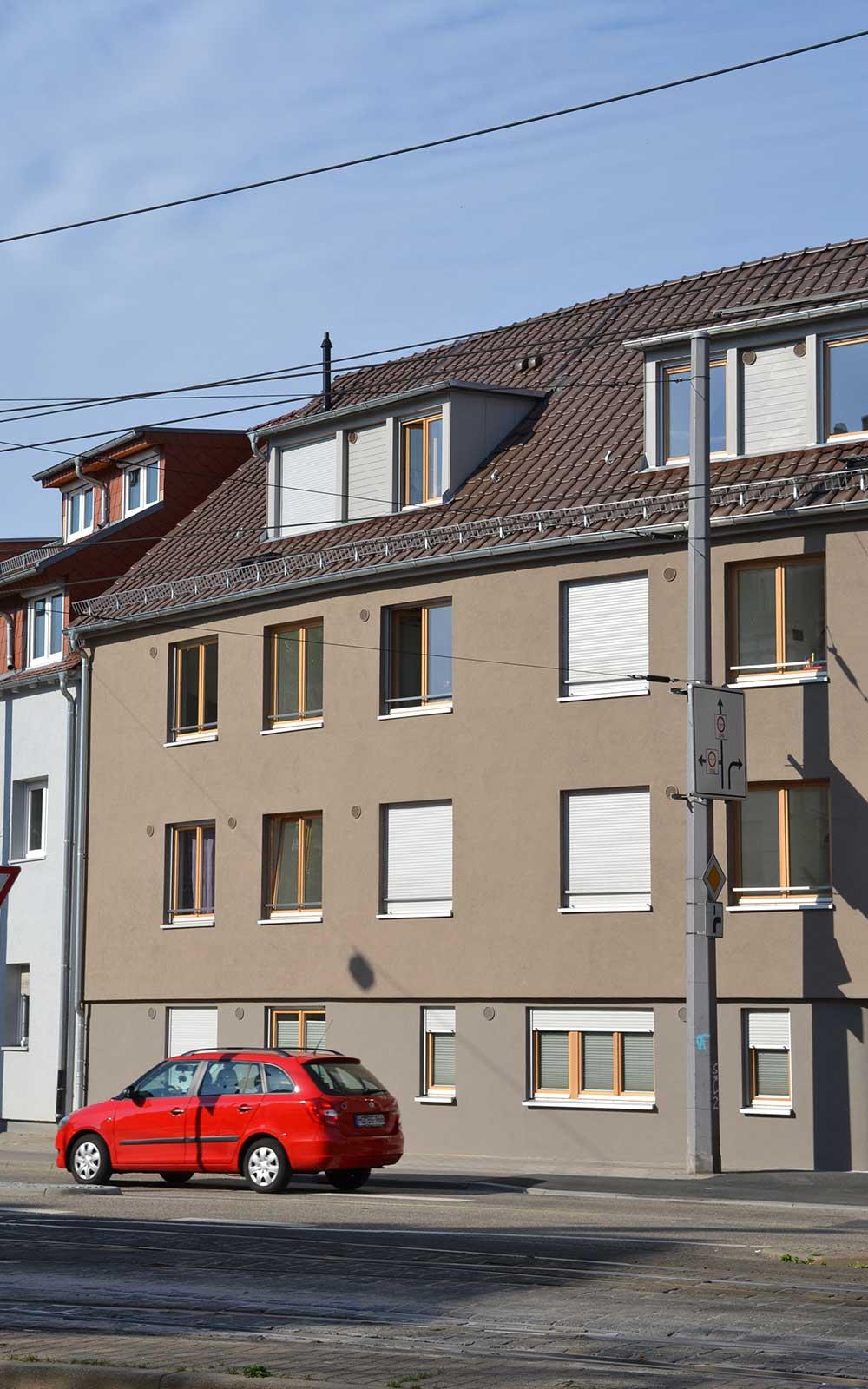 Hans Thoma Wohnheim, Kochhan und Weckbach Architekturbüro Heidelberg