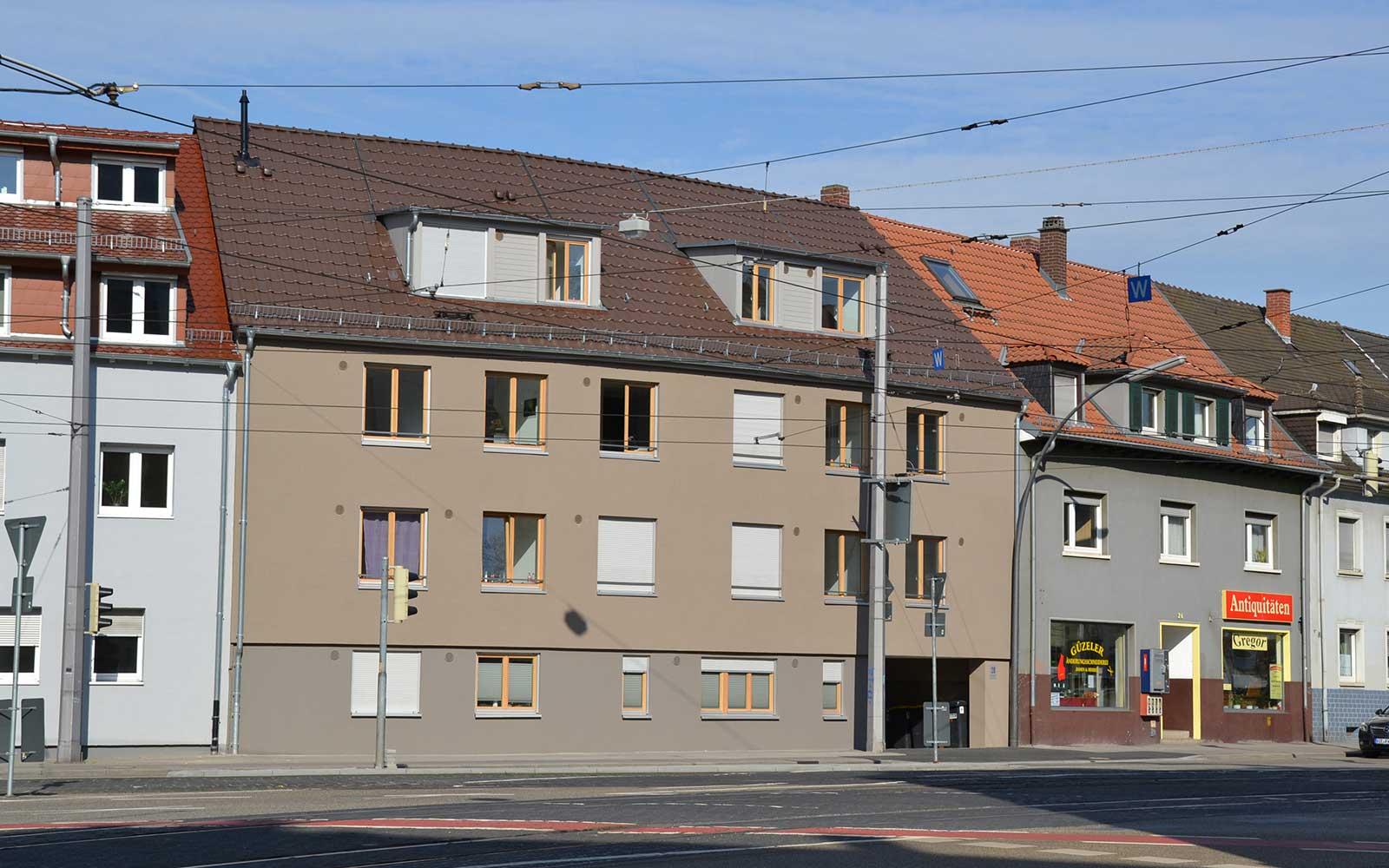 Hans Thoma Wohnheim in Handschuhsheim, Kochhan und Weckbach Architekturbüro Heidelberg