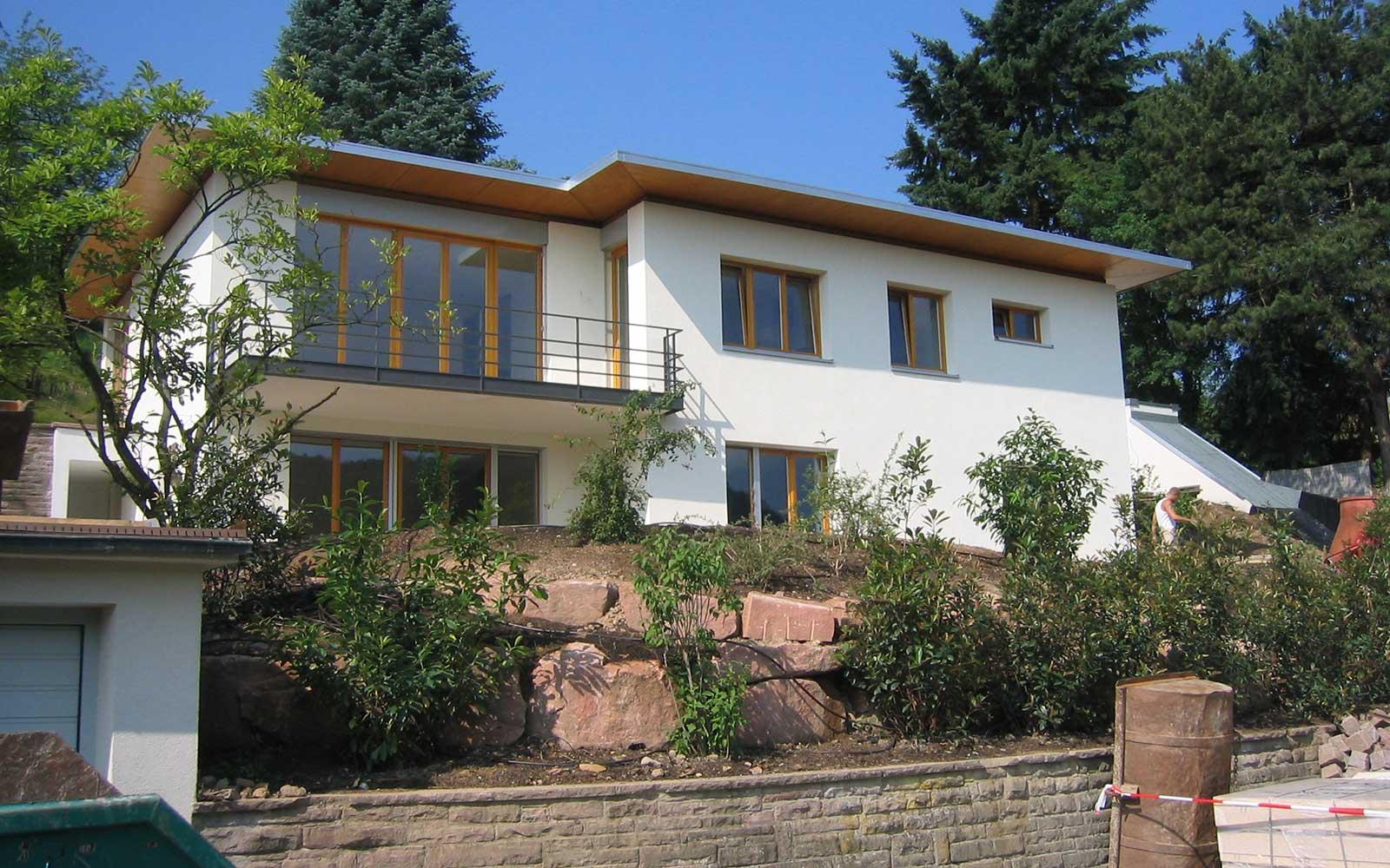 neubau ziegelhausen kochhan weckbach architekten heidelberg. Black Bedroom Furniture Sets. Home Design Ideas