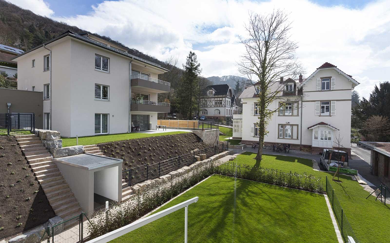 Neubau Doppelhaushälften Weststadt, Kochhan und Weckbach Architekten Heidelberg