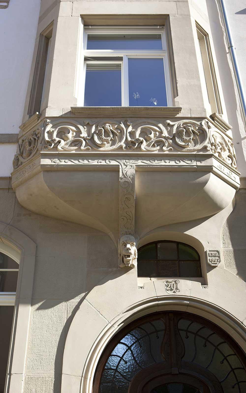 Jugendstil Heidelberg Neuenheim, Kochhan und Weckbach Architekten Heidelberg