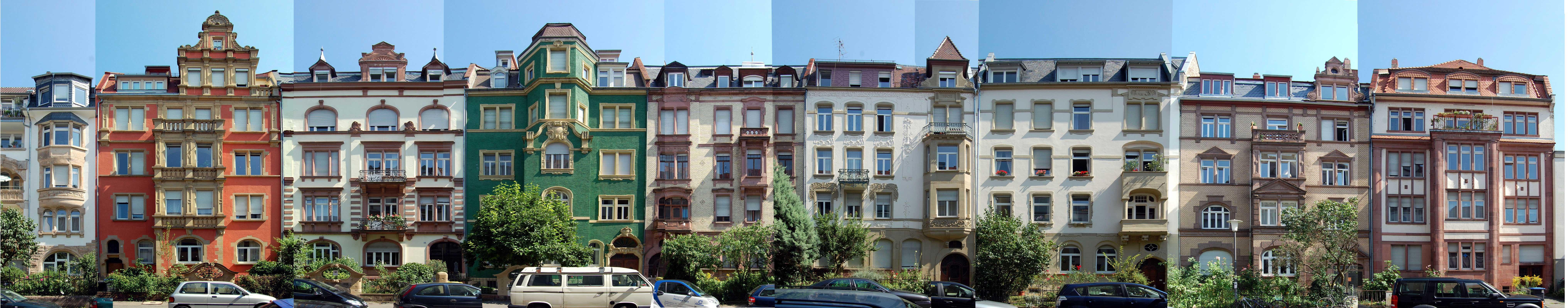 Jugendstil in Heidelberg Neuenheim, Architekturbüro Heidelberg: Kochhan und Weckbach