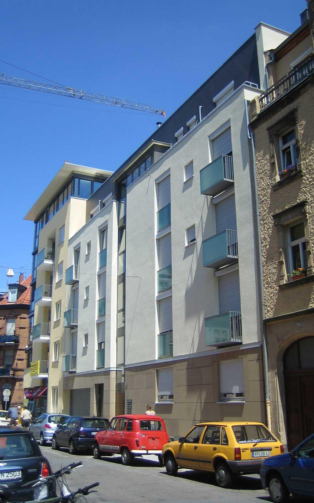 Kochhan und Weckbach Architekten Heidelberg, Mehrfamilienhaus Neuenheim