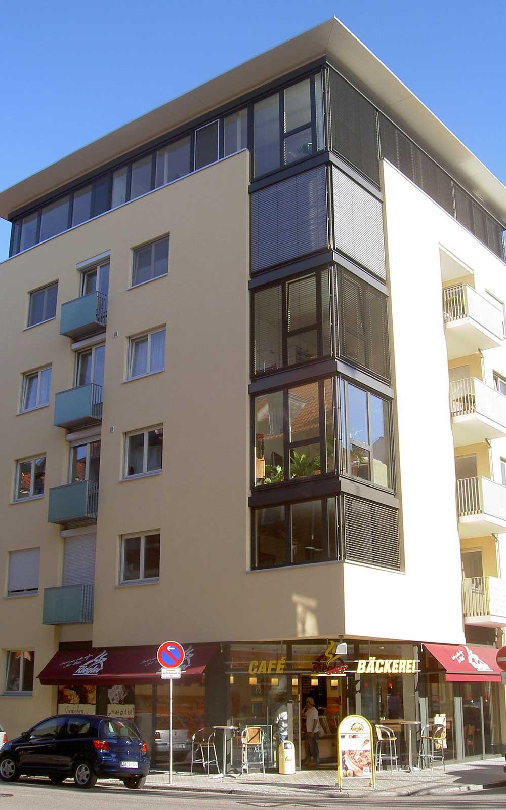 Mehrfamilienhaus in Neuenheim, Architekt Heidelberg