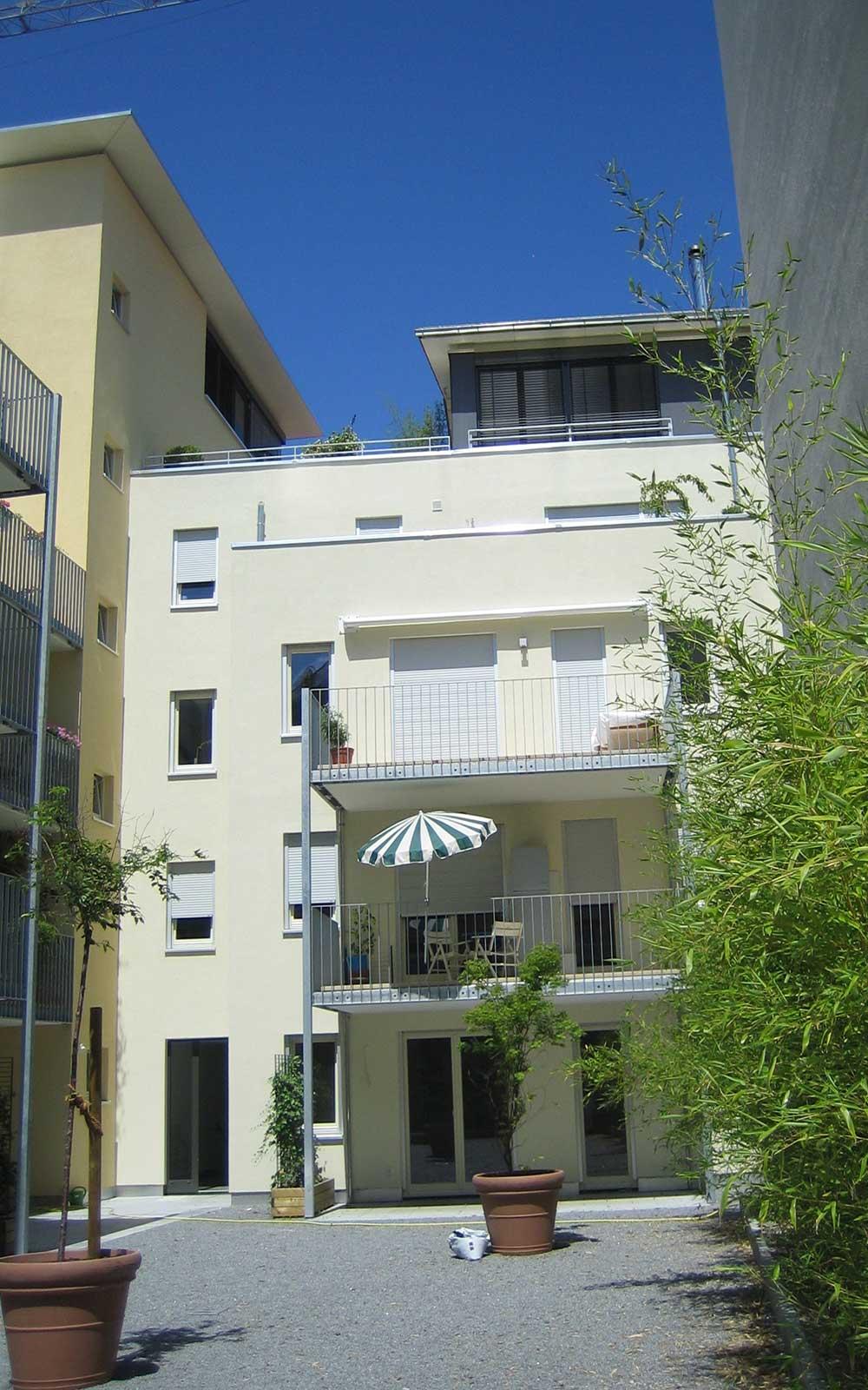 Mehrfamilienhaus in Neuenheim, Kochhan und Weckbach, Architekt Heidelberg