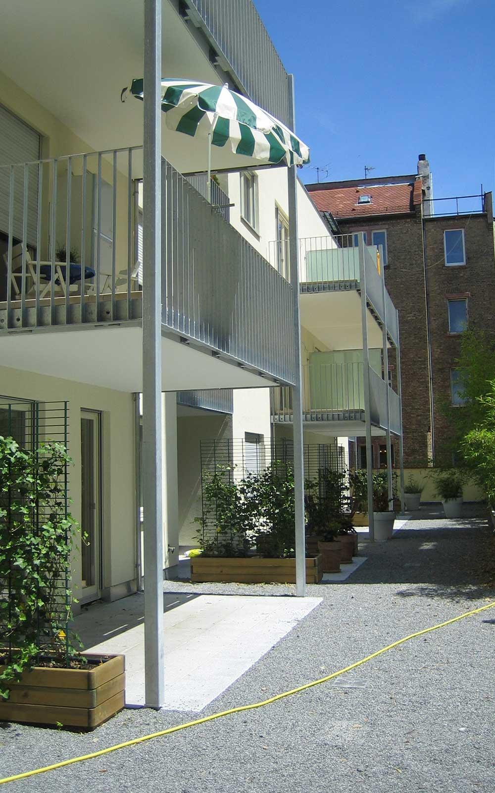 Mehrfamilienhaus in Neuenheim, Kochhan und Weckbach Architekten Heidelberg