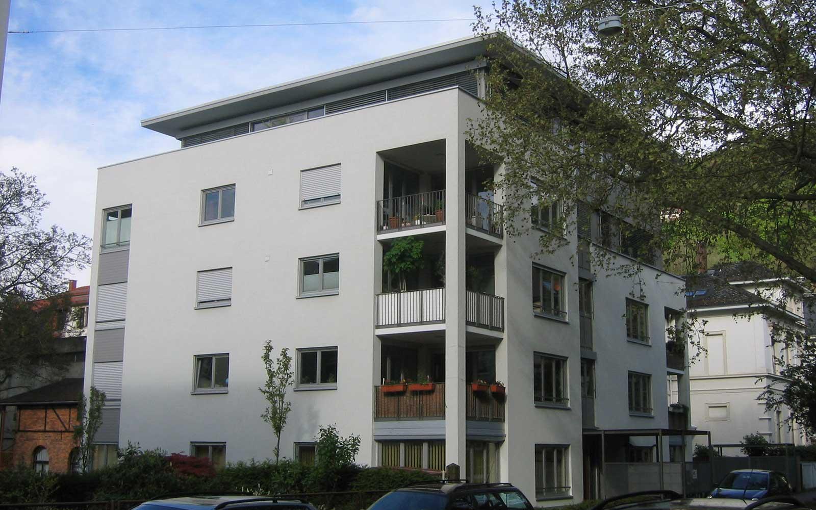 Mehrfamilienhaus in der Weststadt in Heidelberg, Kochhan und Weckbach Architektur