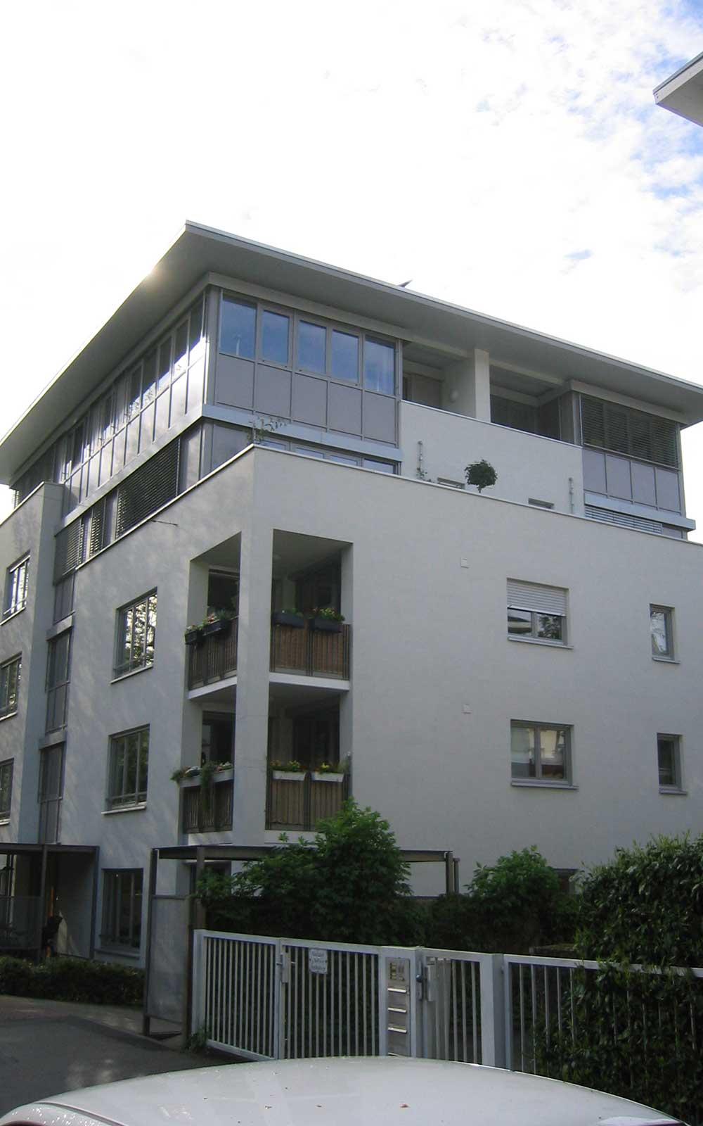 Mehrfamilienhaus Weststadt Heidelberg, Kochhan und Weckbach Architekten