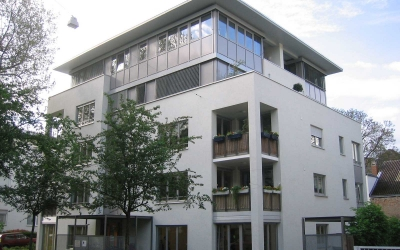 Kochhan und Weckbach Architekten Mehrfamilienhaus Weststadt Heidelberg