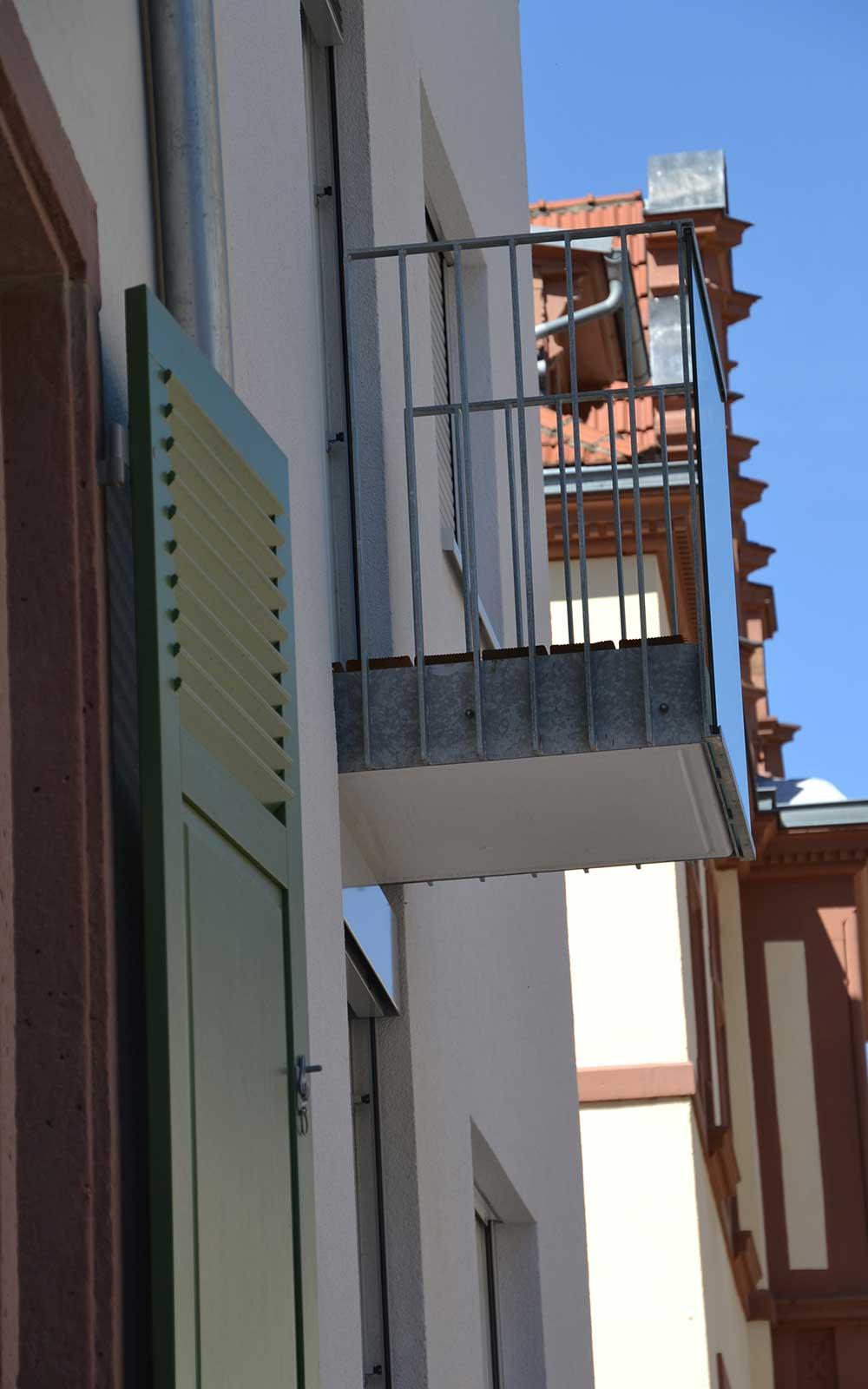 Mehrfamilienhaus in der Weststadt Heidelberg, Architekt Heidelberg