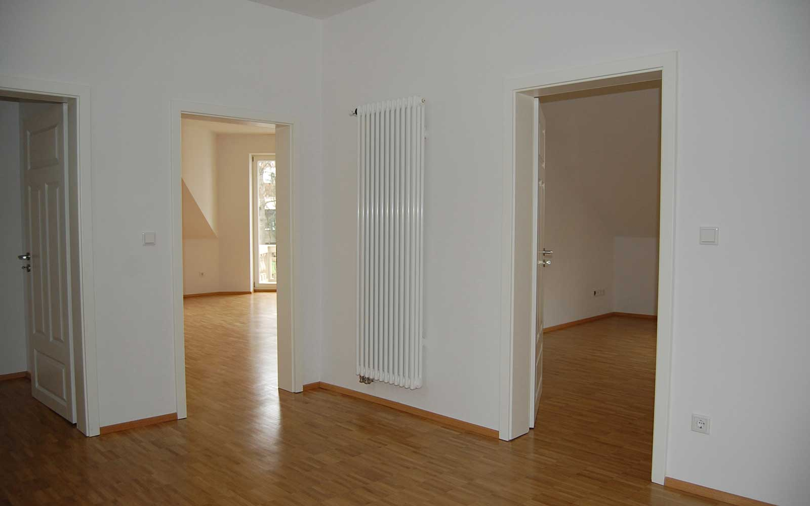 Architekten Kochhan und Weckbach Mehrfamilienhaus Weststadt Heidelberg