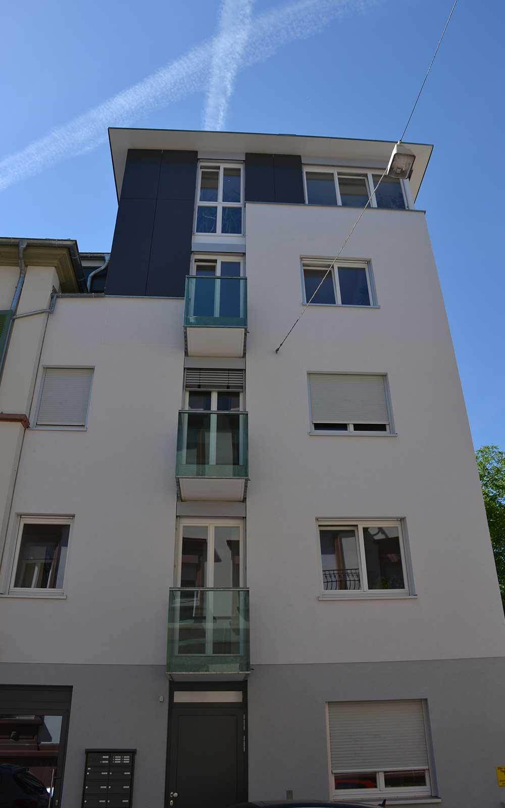 Mehrfamilienhaus in der Weststadt Heidelberg, Kochhan und Weckbach Architektur