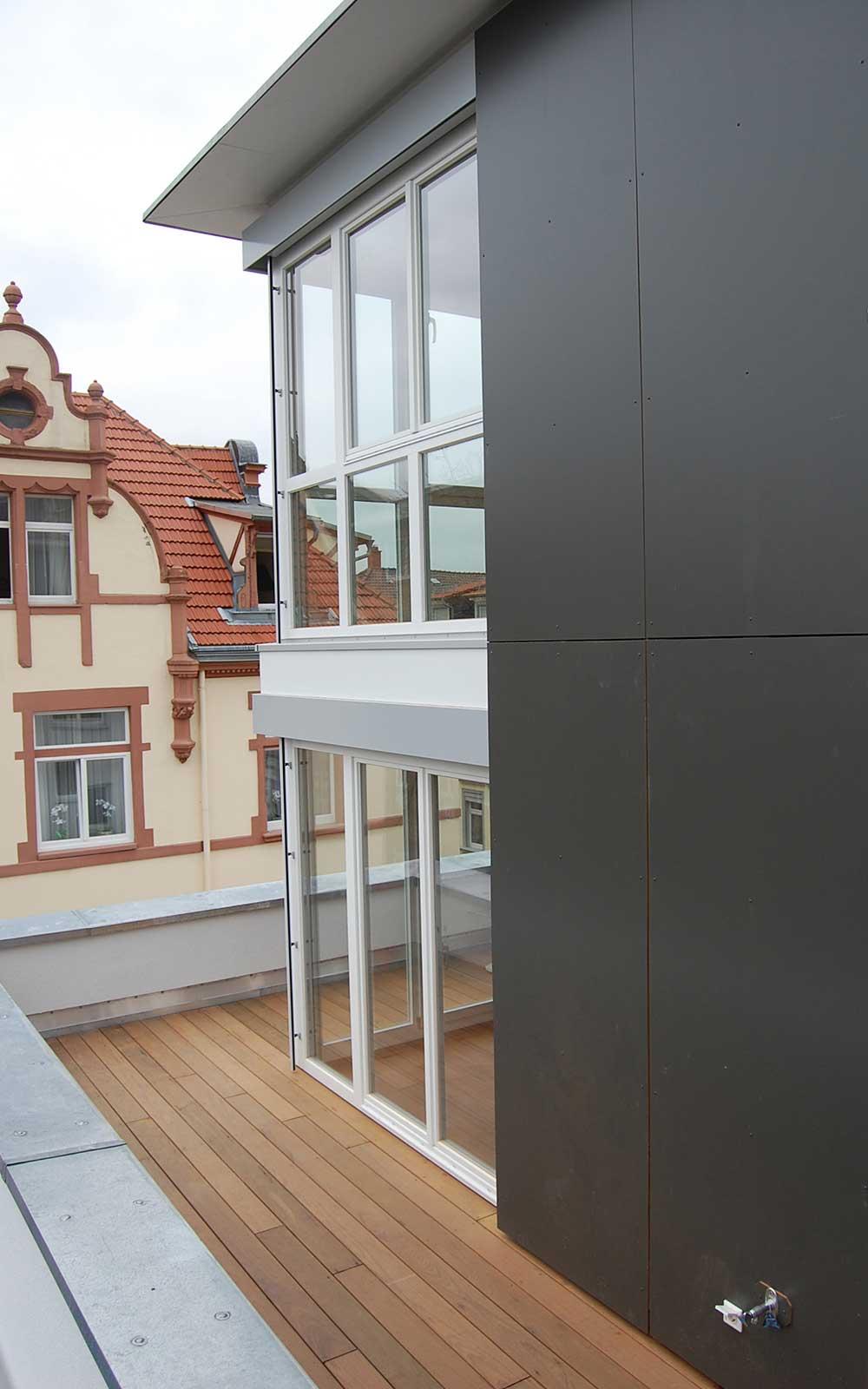 Mehrfamilienhaus Weststadt Heidelberg, Architekturbüro Kochhan und Weckbach