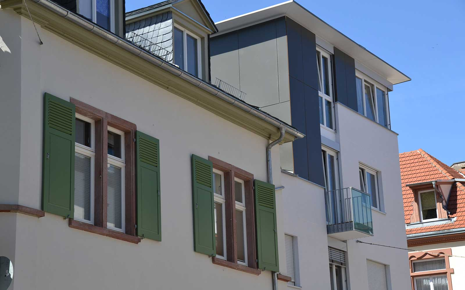 Architekturbüro Kochhan und Weckbach Mehrfamilienhaus Weststadt Heidelberg