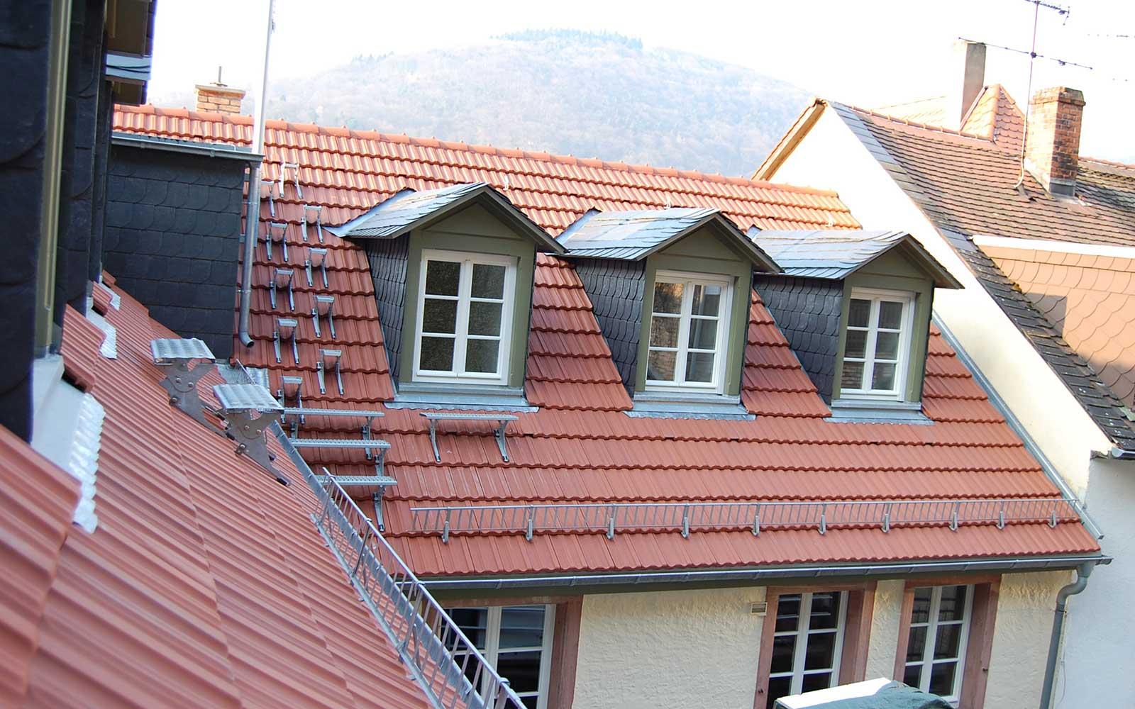 Saxen und Preußen, Architekten Heidelberg: Kochhan und Weckbach
