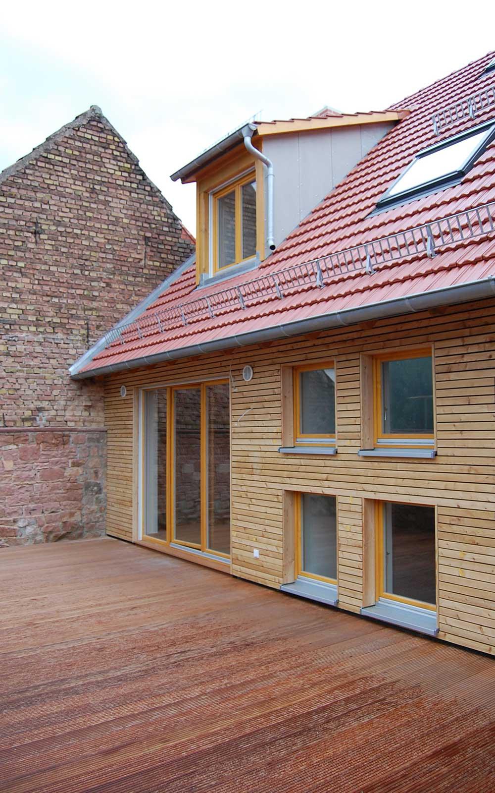 Scheunenausbau in Handschuhsheim, Architekt Heidelberg: Kochhan und Weckbach
