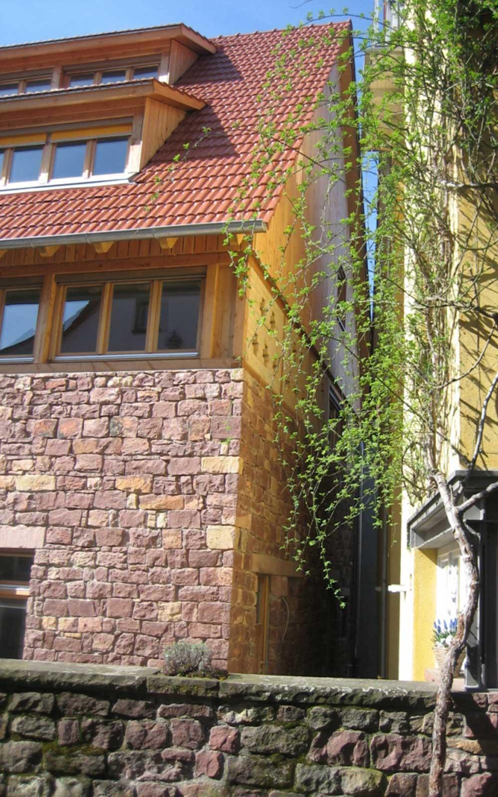 Scheunenausbau in Heidelberg Handschuhsheim, Architekturbüro Heidelberg: Kochhan und Weckbach
