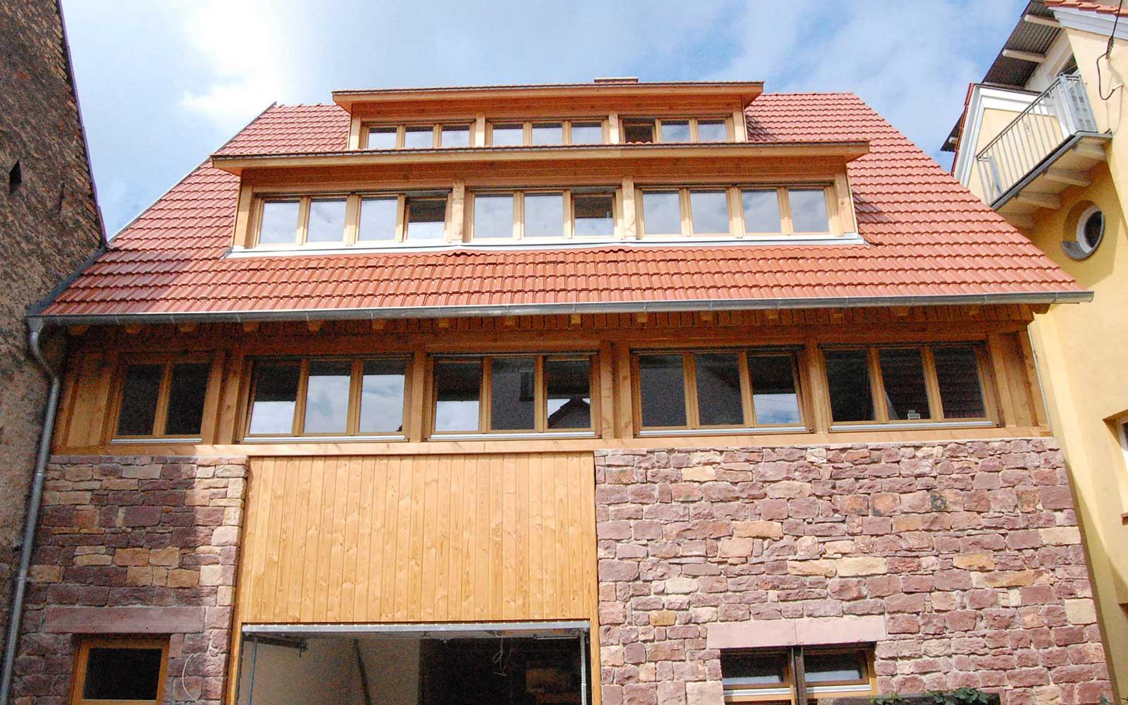 Scheunenumbau in Rohrbach, Heidelberg Architekten
