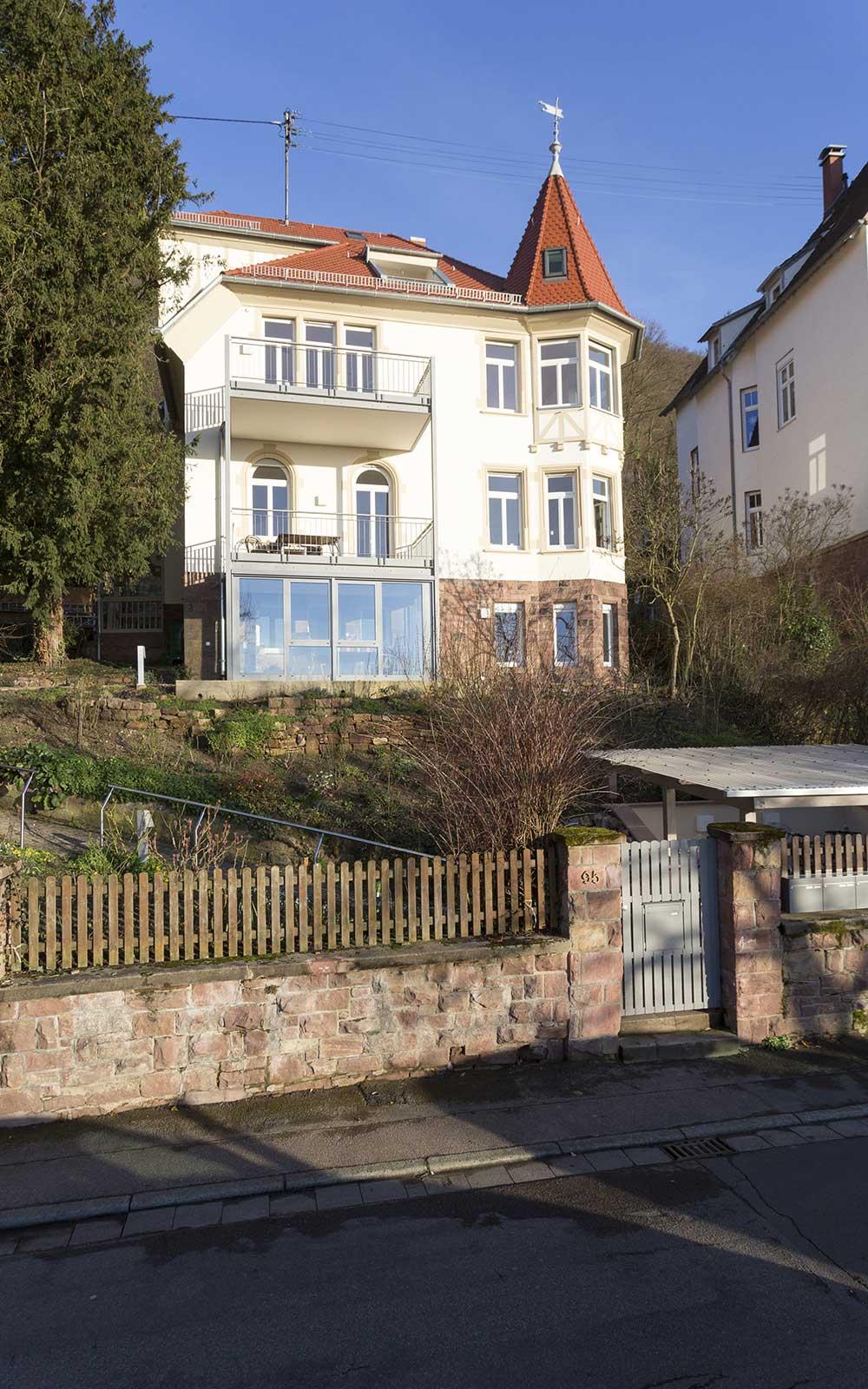 Villa Hilda Weststadt Heidelberg, Kochhan und Weckbach Architekten Heidelberg