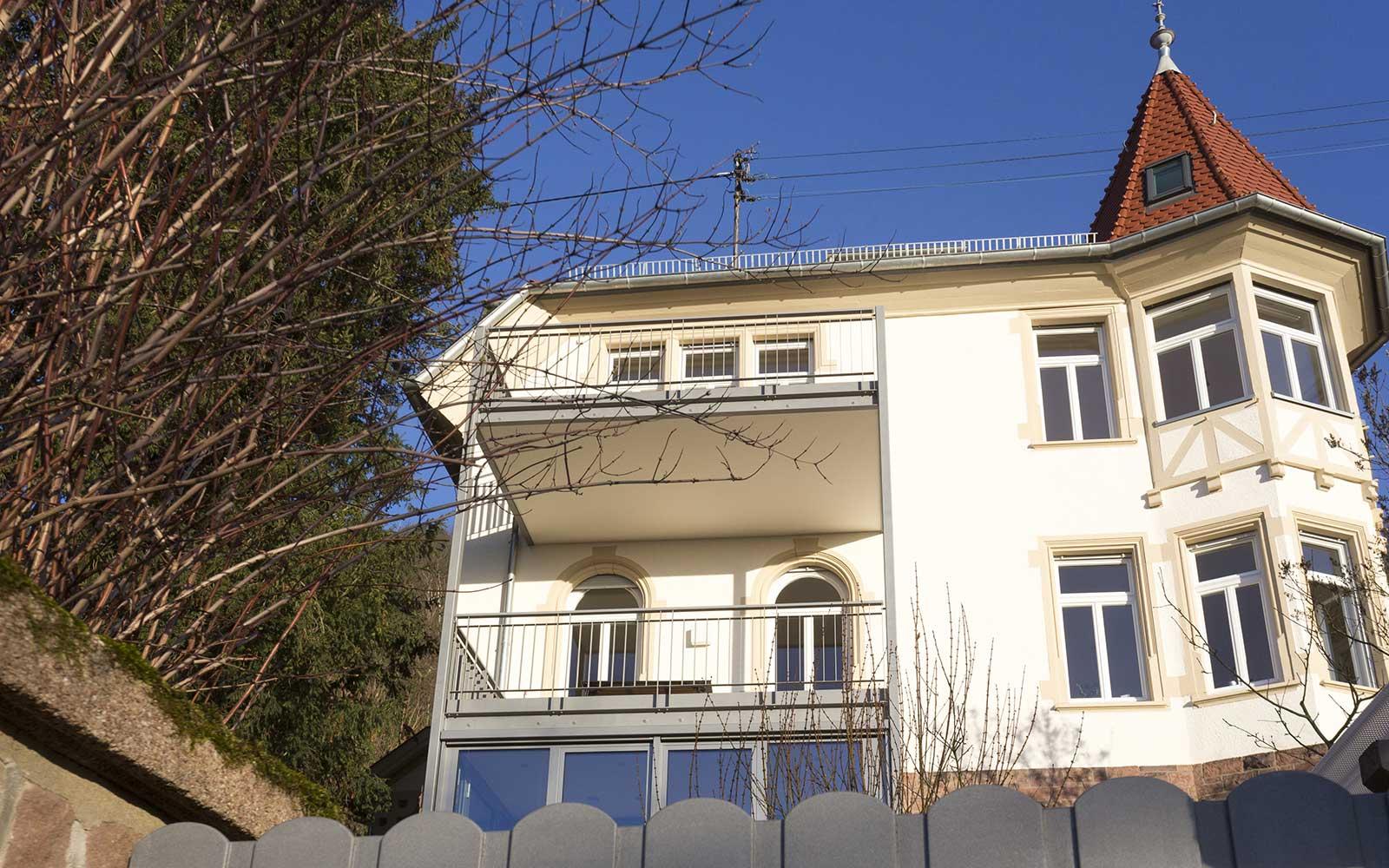Architektur in Heidelberg: Villa Hilda in der Weststadt
