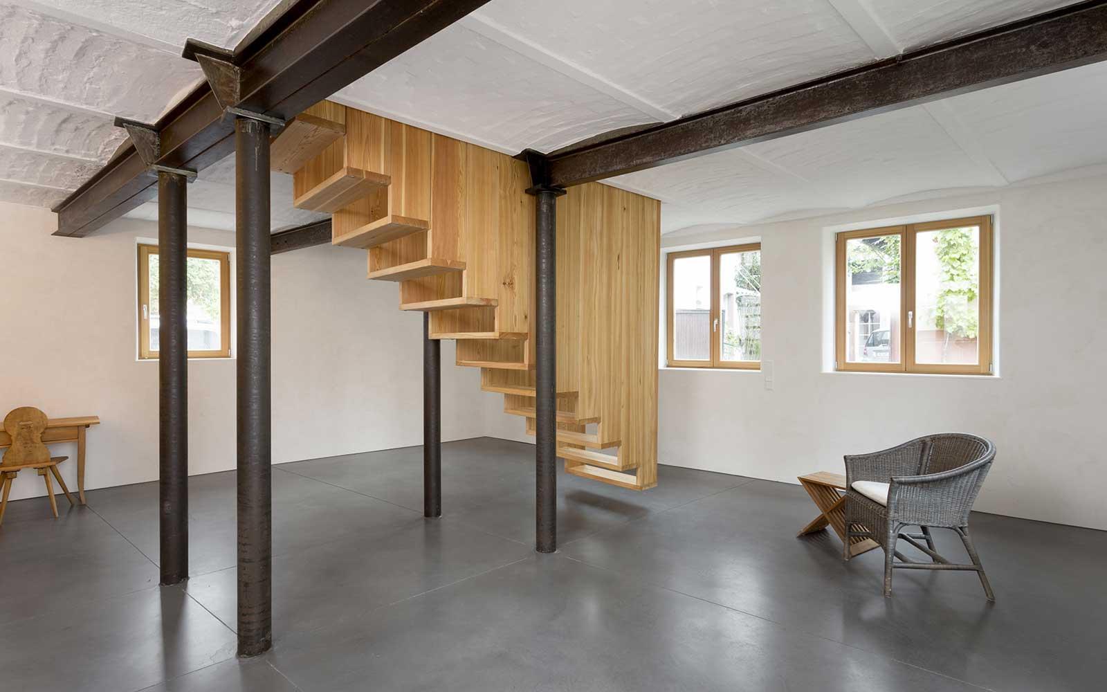Vogelhaus Rohrbach, Architekt Heidelberg