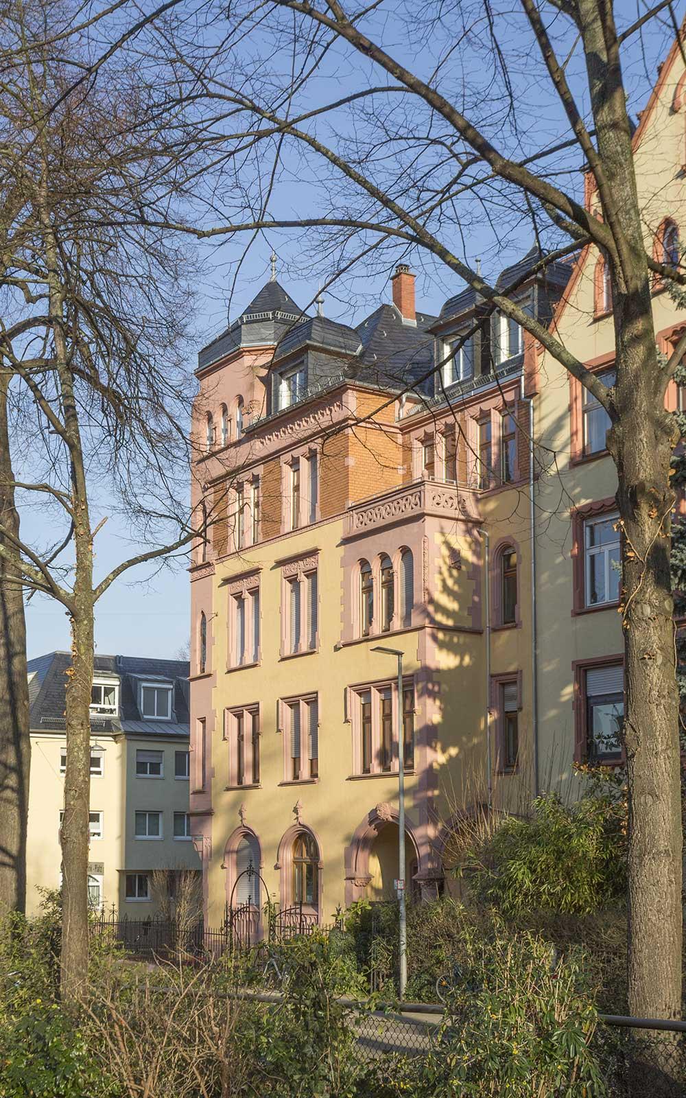 Jugendstilhaus Weststadt, Architektur: Kochhan und Weckbach