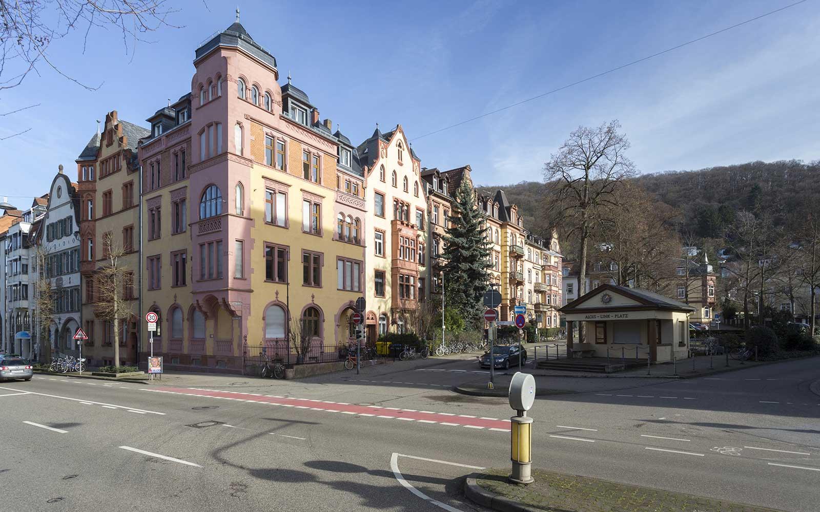 Jugendstilhaus in der Weststadt, Heidelberg Architektur
